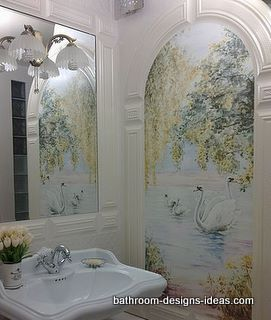 Ordinaire Ceramic Tile Bathroom Mural ~ Courtesy Of Znanna Savnikova