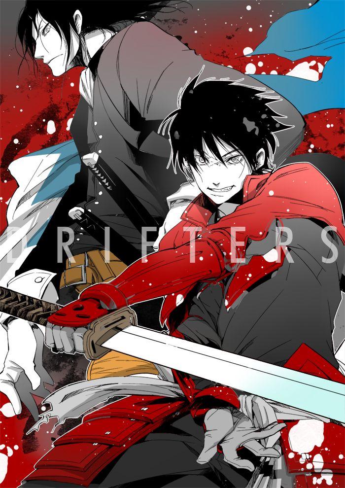 Drifters (Manga) Hijikata Toshizou Shimazu Toyohisa