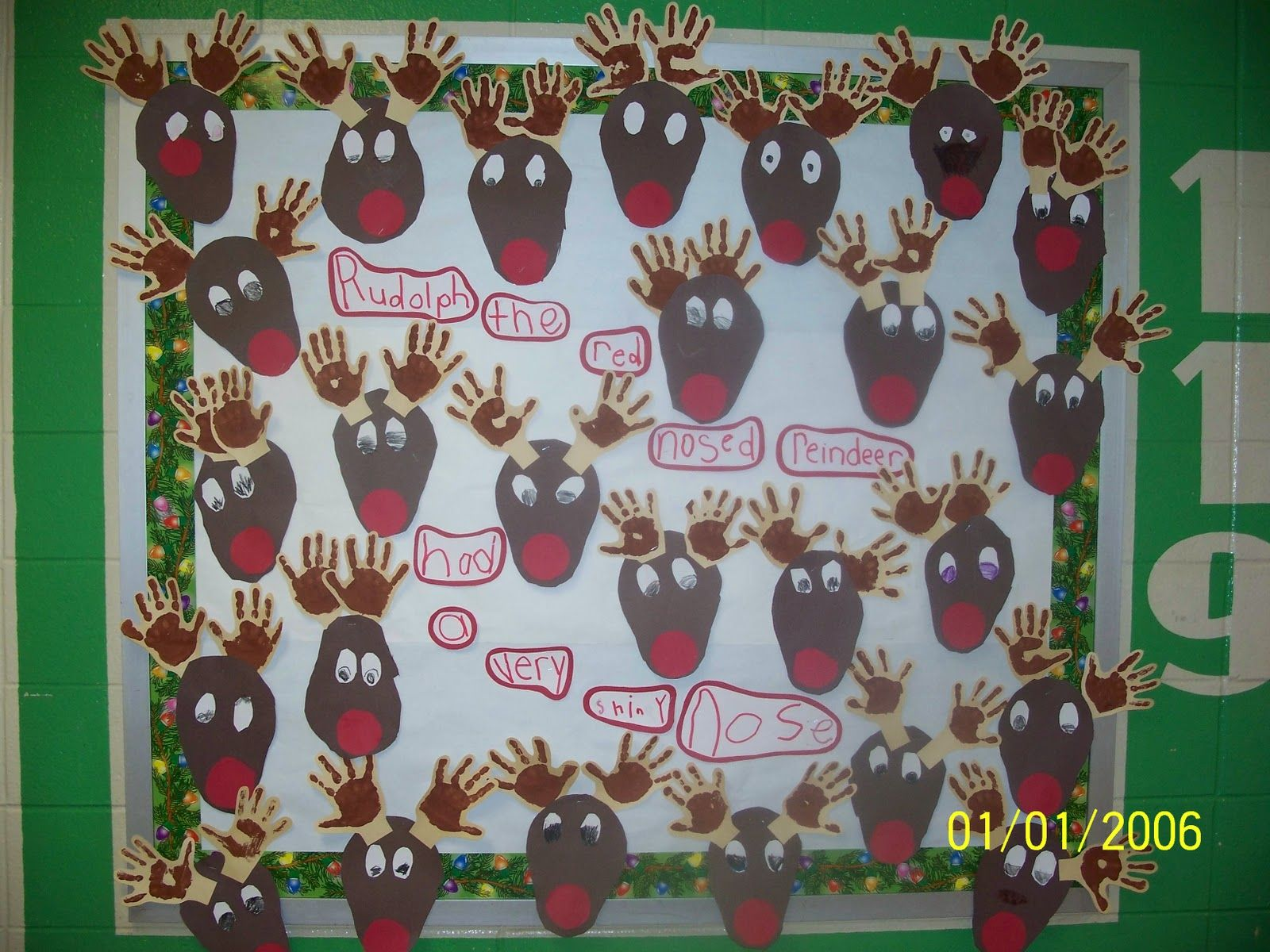 Preschool Classroom Decoration For Christmas ~ Classroom decoration for idea preschool bulletin board