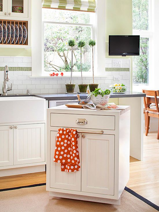 Affordable Kitchen Storage Ideas Tool store, Counter space and