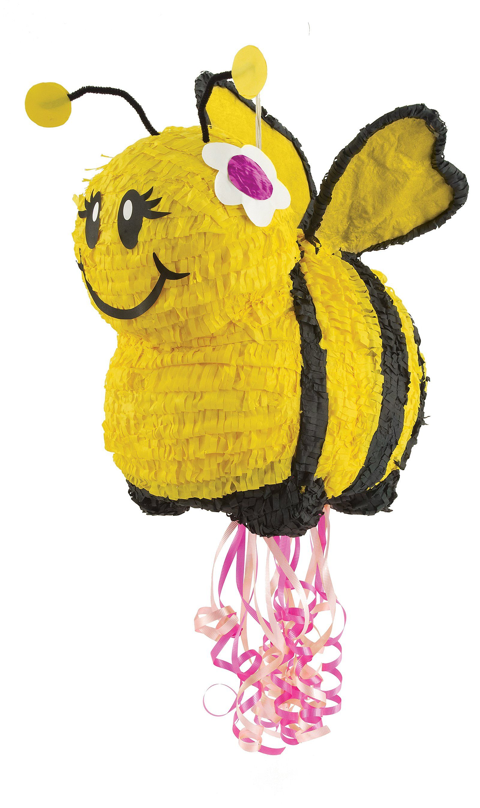 Cuteness For Mer Bears Birthday Bumblebee Party A Pull String Pinata Little Guys