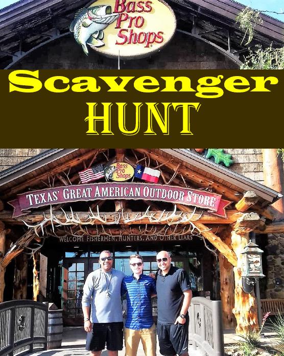Indoor Scavenger Hunt Bass Pro Shops Scavenger hunt