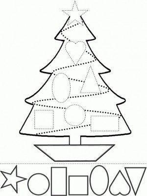 imagenes para colorear de navidad para niños | COLOREAR Y RECORTAR ...
