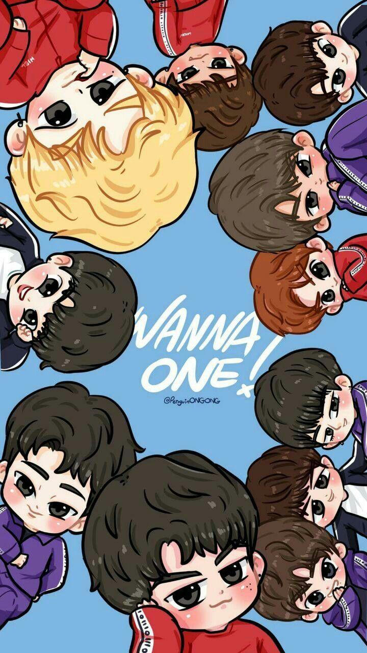 Pin By Nii New On Wannaone Fanart Kpop Fanart Kpop Chibi