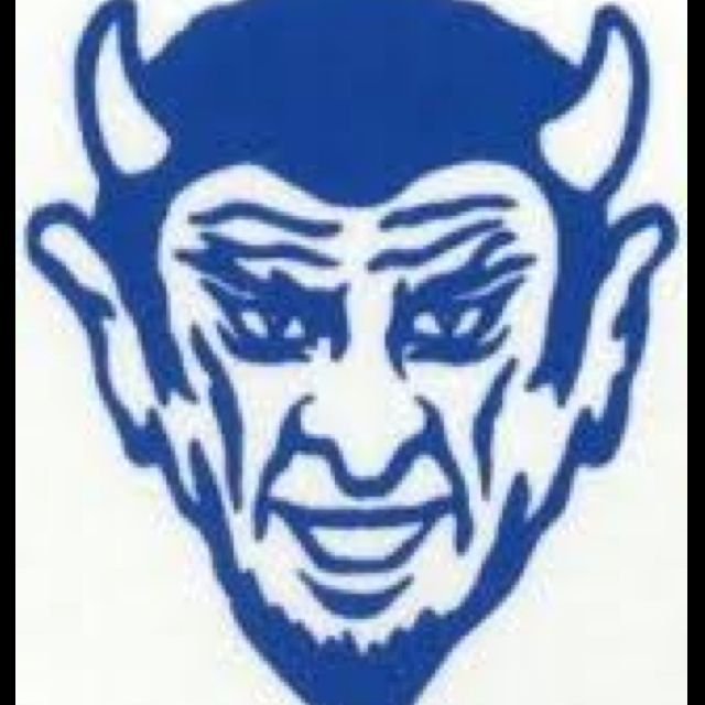 Blue Devil For Life Pee Wee Blue Devil Football Bdp Blue