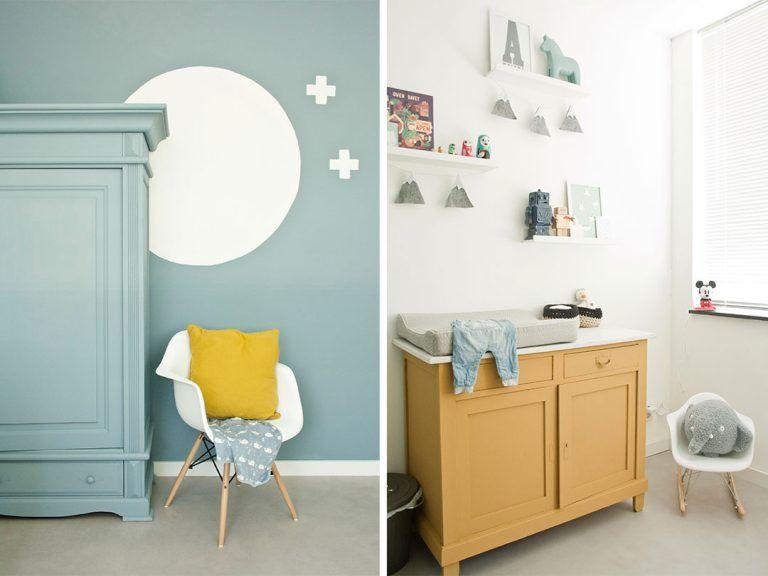 Babykamer inspiratie; babykamer jongen; binnenkijken; babykamer