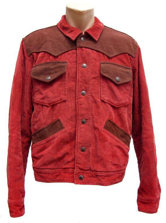 Vintage Marlboro Classics Jacket Men S Large Red 100 Marlboro Classics Mens Jackets Jackets