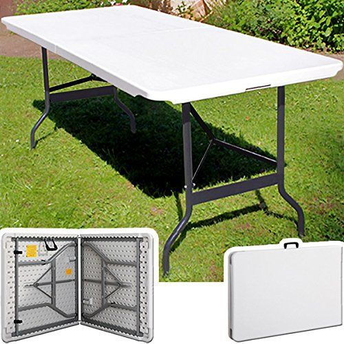 table pliante portable de réception ou camping plateau