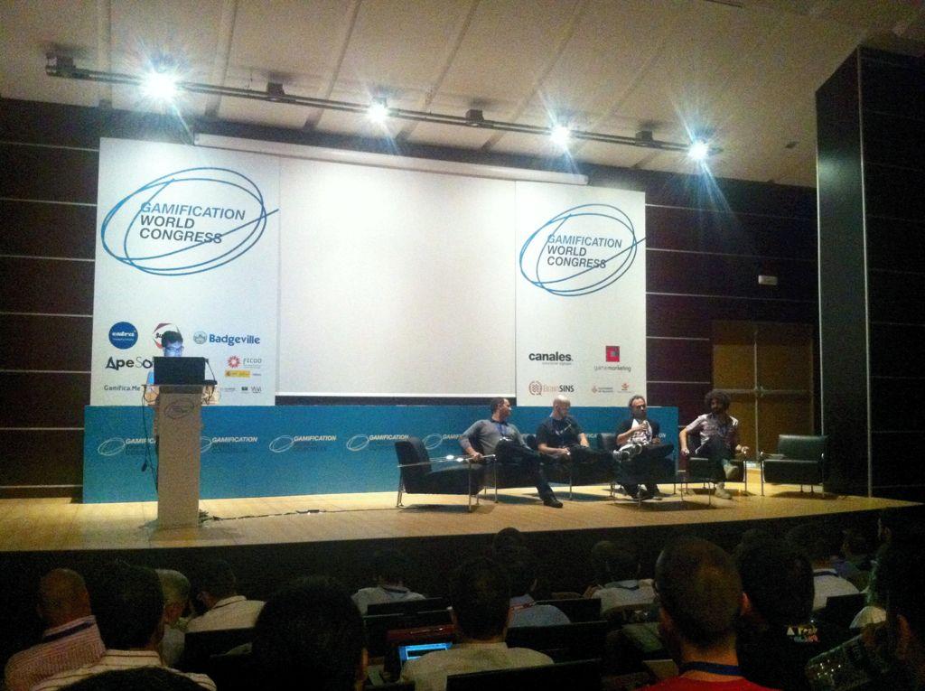Si os interesa la gamificación, seguro que os interesa lo sucedido en el Gamification World Congress de Valencia, donde estuve presente para cubrir el congreso.    Ahi van algunas reflexiones sobre dicho evento: http://kcy.me/b78d    #GWC2012 #Gamificación