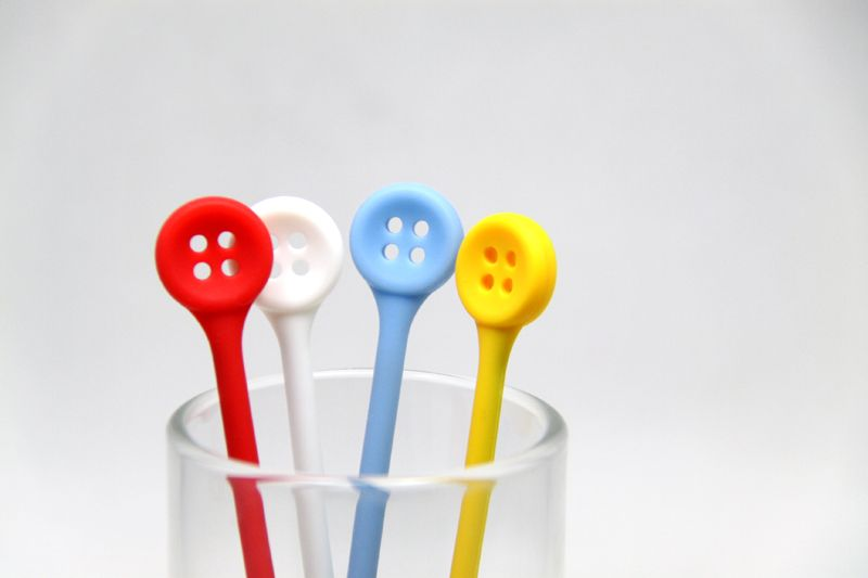 Button Stirrers - Gift Concept Inc.