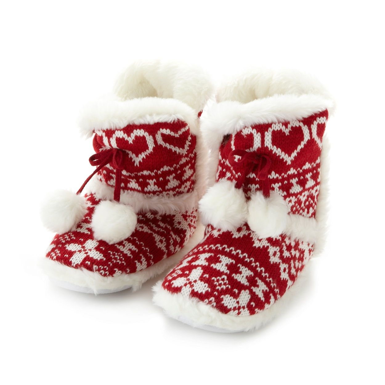 Slipper boots, Knitted slippers