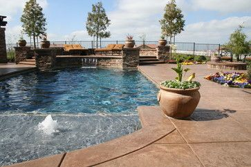 Foam Jets - Contemporary - Pool - Sacramento - Wells Pools ...