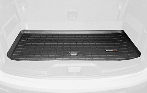 Weathertech Custom Fit Cargo Liners For Gmc Acadia Black Behind 3rd Row For More Information Visit Image Lin Automotive Solutions Cargo Liner Weather Tech