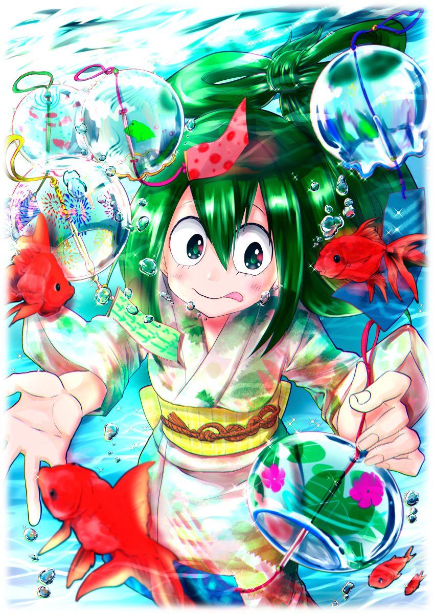 Bnha Mha Bokunoheroacademia Myheroacademia Froppy Atsui My Hero Academia Tsuyu Hero Wallpaper My Hero