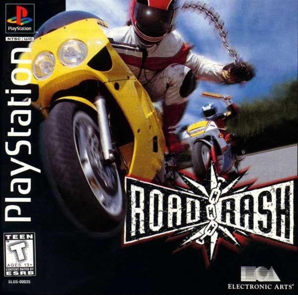 Road Rash Sony Playstation Playstation Road Rash Video Games