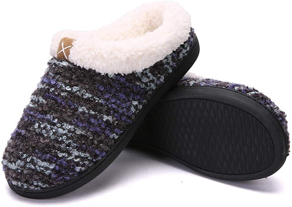 the cheapest exclusive range classic styles adituob Women Men Winter House Slippers Comfort Memory Foam ...