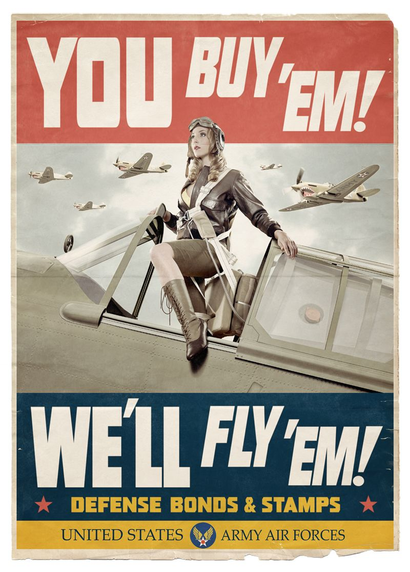 Let/'s Go Vintage Canadian air force advert Poster reproduction.