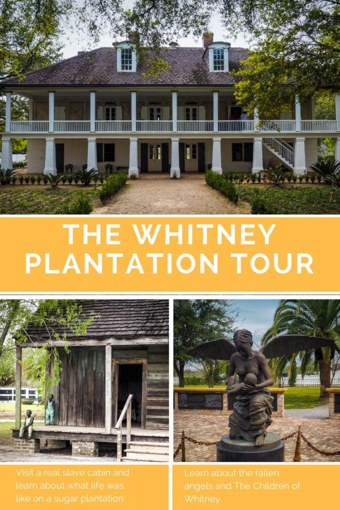 Exploring New Orleans The Whitney Plantation Travel