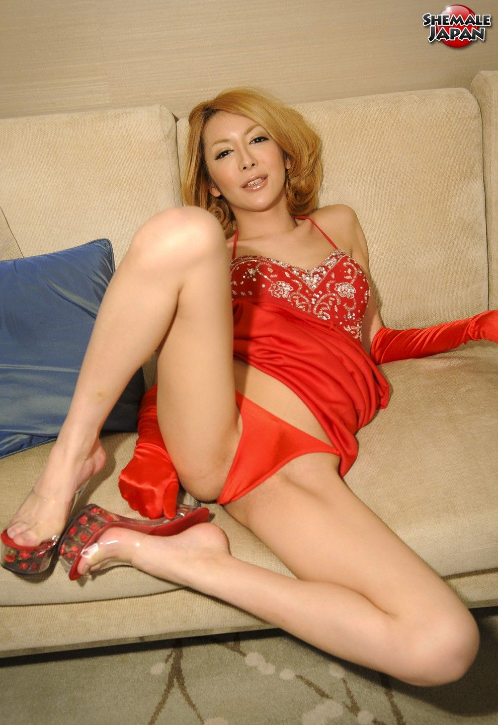 Ladyboys in sexy Dessous
