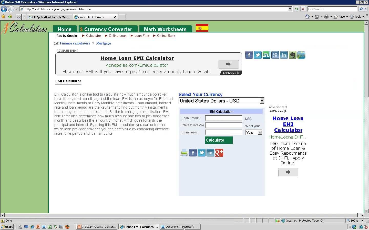 Itelearn Quality Center Tutorial Day 01 Qc Tutorial Video