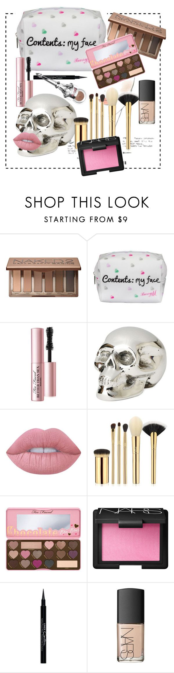 """""""Makeup pack"""" by aneta-sundova on Polyvore featuring beauty, Urban Decay, Lipsy, Too Faced Cosmetics, Chanel, Jan Barboglio, Lime Crime, tarte, NARS Cosmetics and Givenchy"""