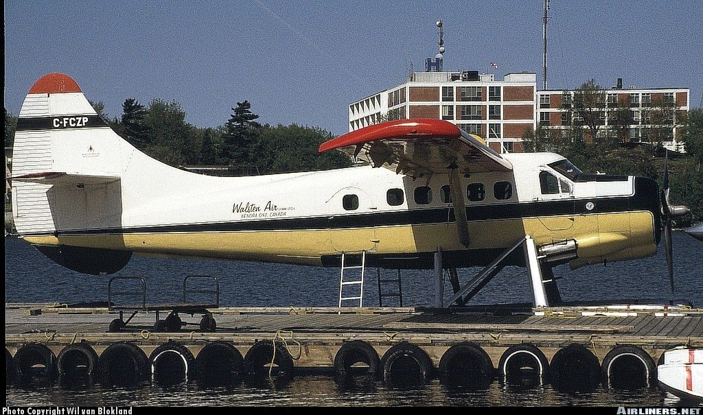 De havilland canada dhc3 otter walsten air service