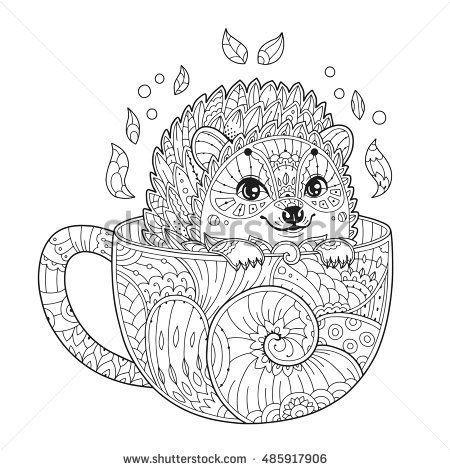 Coloring Page Hedgehog Wallpaper Animal Coloring Pages Mandala Coloring Pages Mandala Coloring