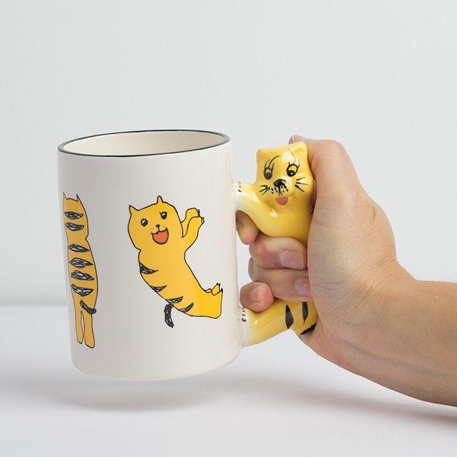 ねこちゃんマグカップ