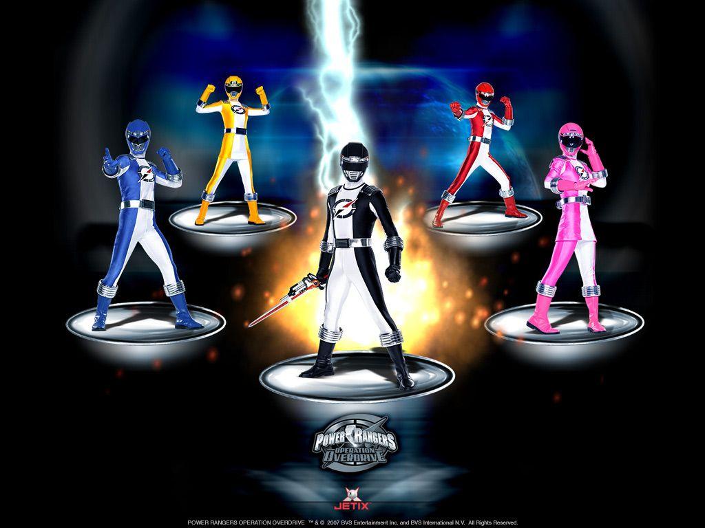 Power Rangers Operation Overdrive Power Rangers Operation