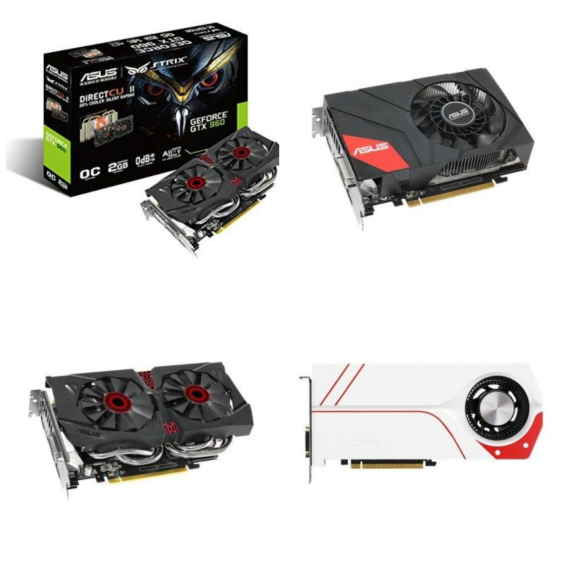 Asus Gtx 960 Graphics Cards Graphic Card Cards Asus