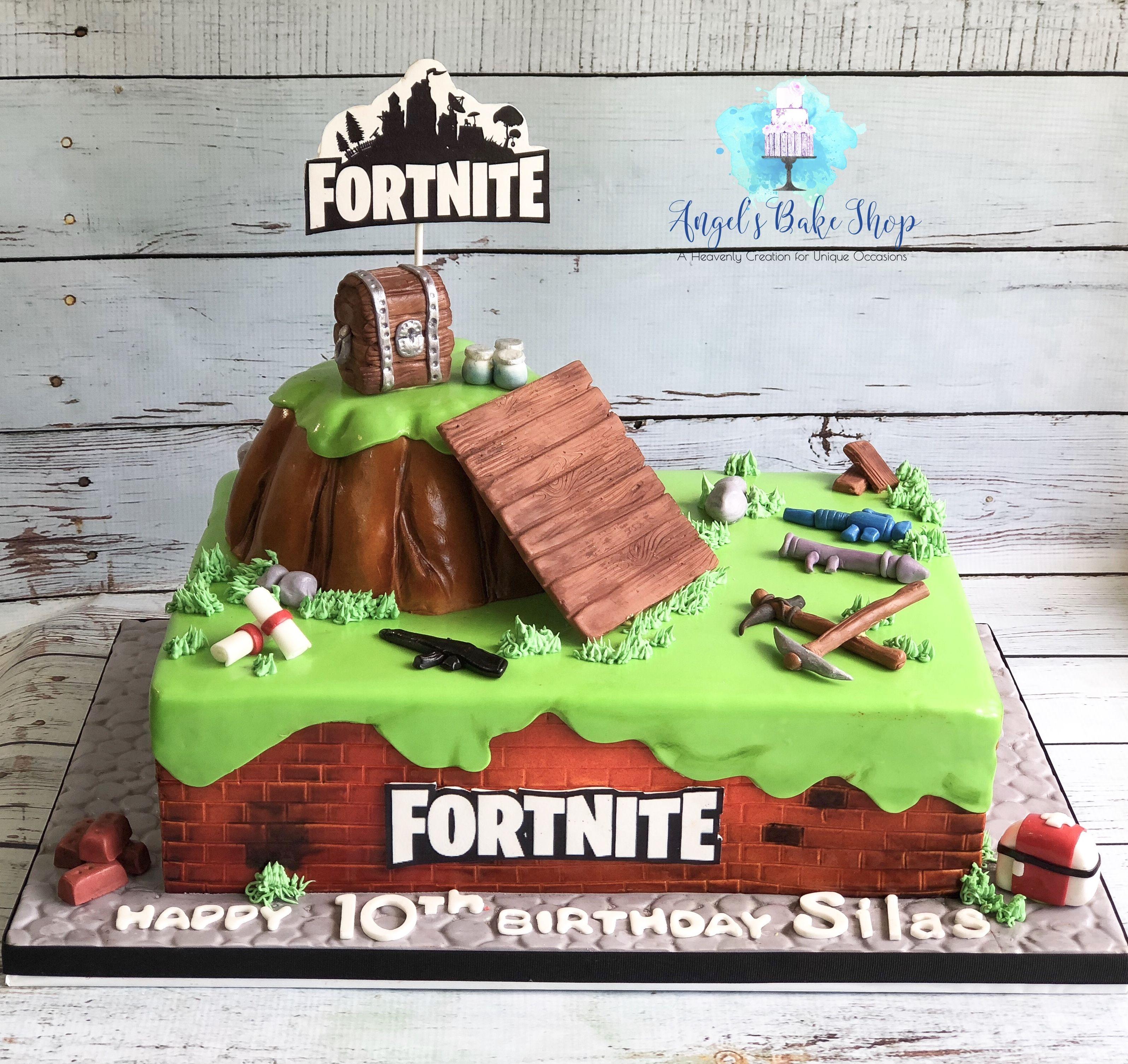 Fortnite Cake Gamer Handmade Fortnite