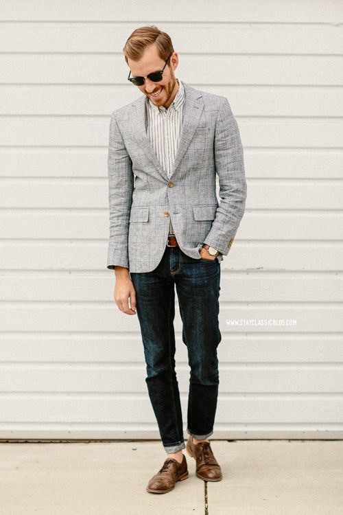 Stay Classic • January 19, 2014. Blazer: Linen in Grant ...