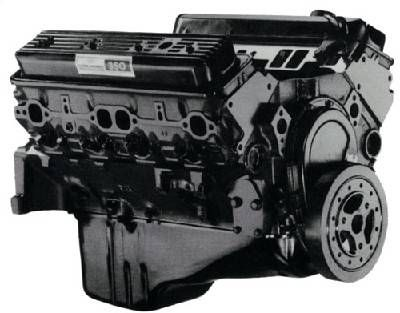 GM Engines - GM Engines 12568758 - TBI 350 LO5 New Crate Engine