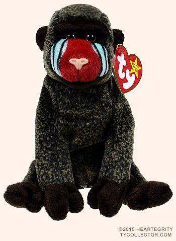 Cheeks - baboon - Ty Beanie Babies  75aff39300a