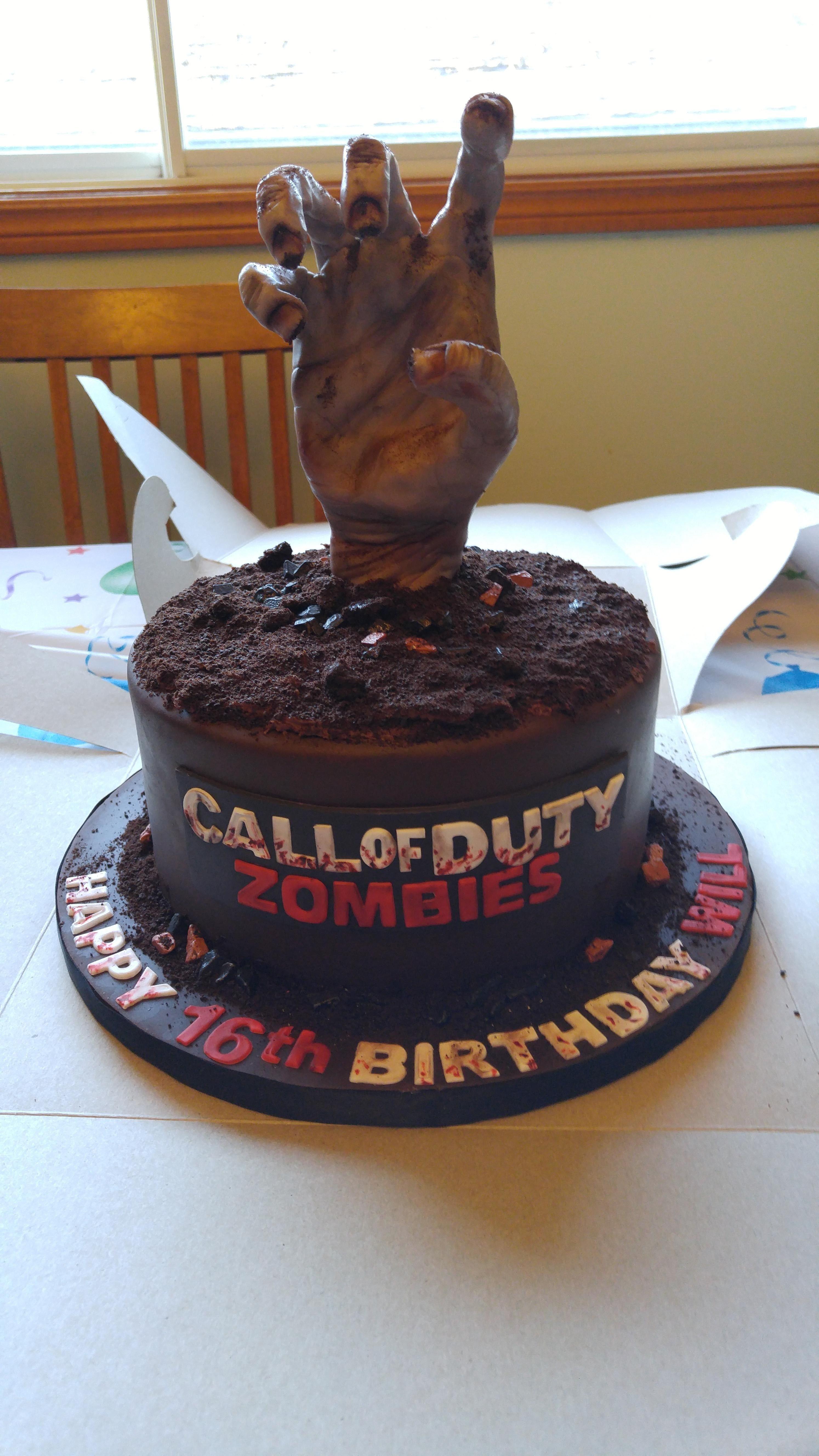 call of duty cake design for girl