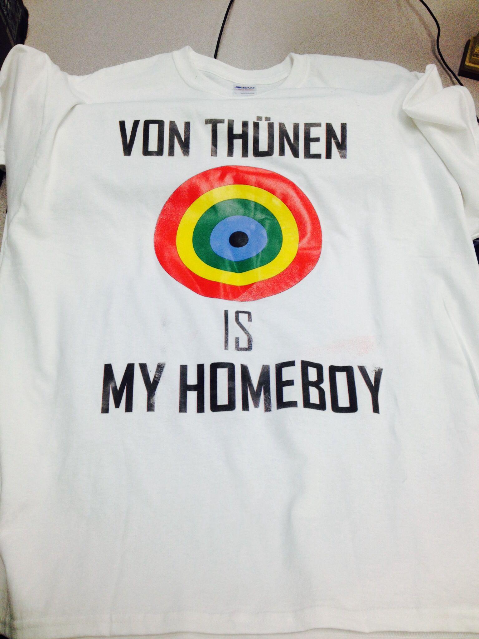 a9390c7f8 Von Thunen T-shirt from my kids Ap Human Geography, School Humor, Work