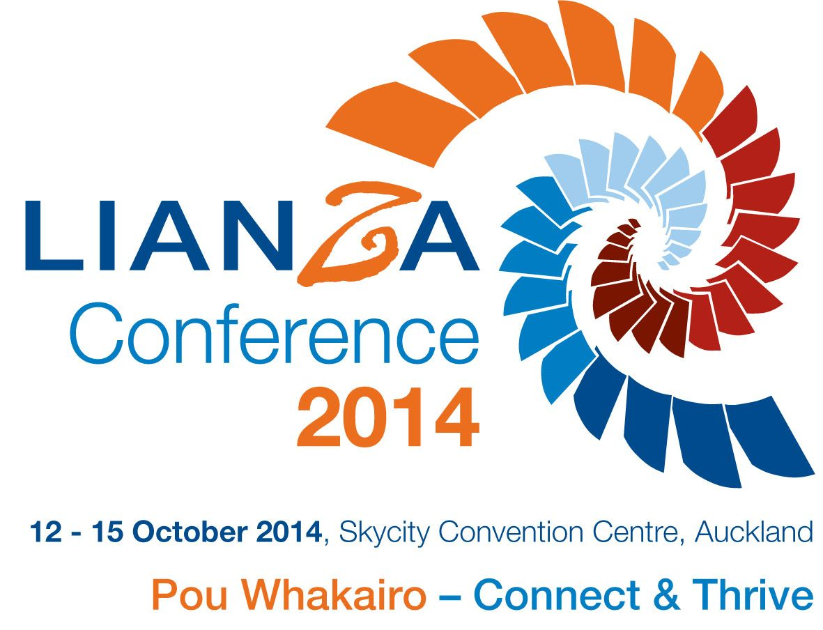 LIANZA Conference 2014, 12-15 October, Skycity Auckland #libraries #NZ
