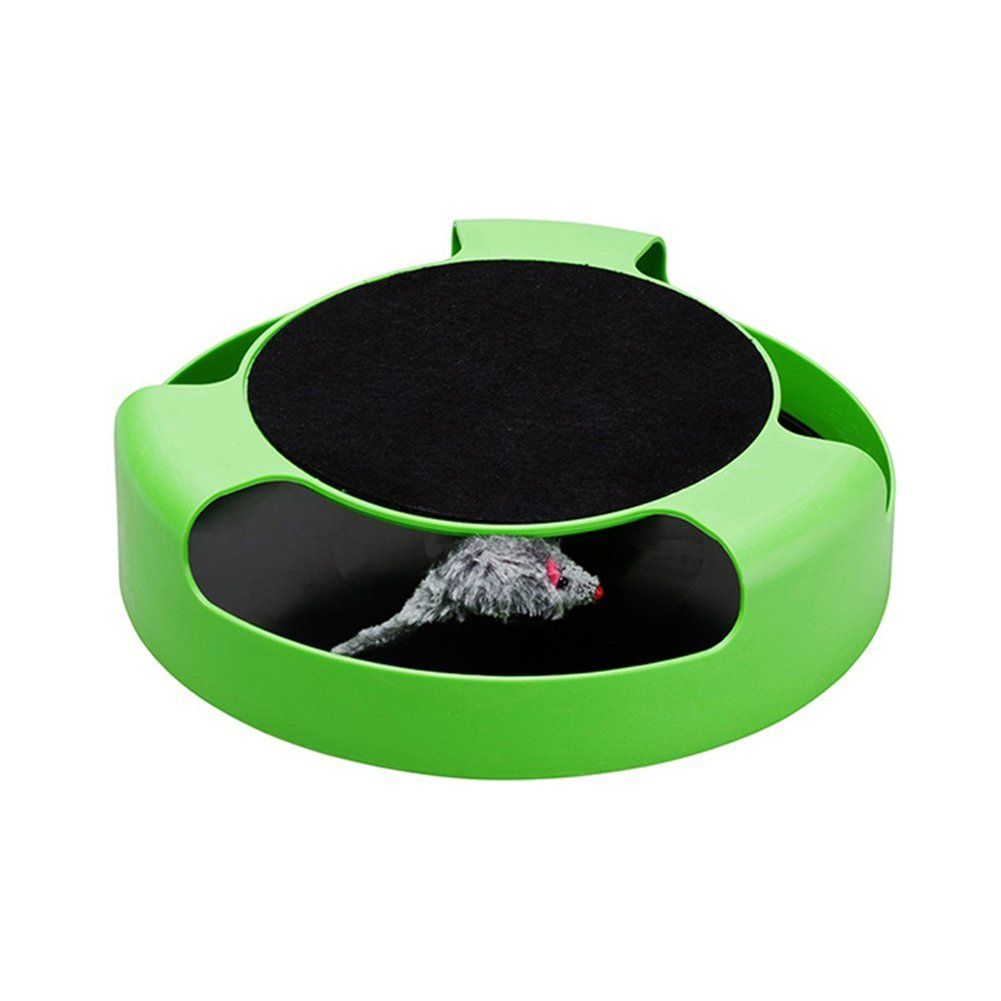 Cat Mice Toys Scratching Pads Rotating Mouse Kitten Toy Cat Catch Play Toy * Want additional info? Click on the image. (This is an affiliate link) #MyCat