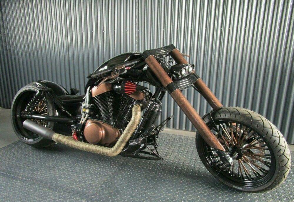 suzuki vs 1400 intruder lmc umbau trudel motorrad. Black Bedroom Furniture Sets. Home Design Ideas