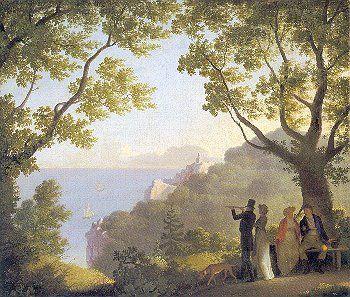 C W Eckersberg Google Sogning Romantikken Billedkunst Og Monet