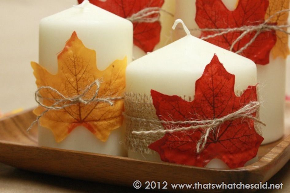 Decorate Your Home For Thanksgiving With These Candles, Wreaths And Mantel  Ideas!