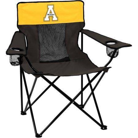 Logo Ncaa Appalachian State Elite Chair, Black