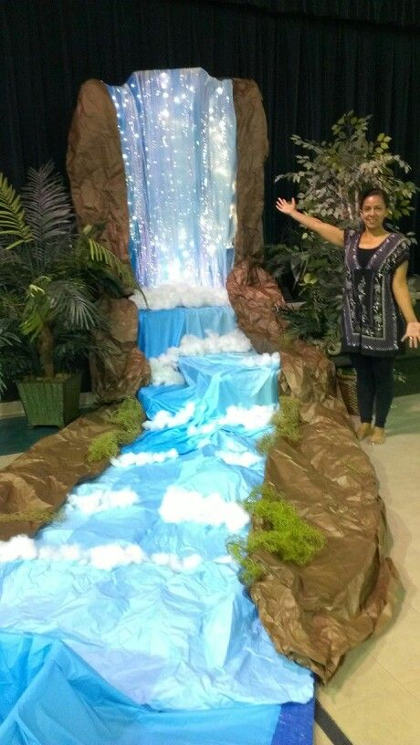 VBS water fall