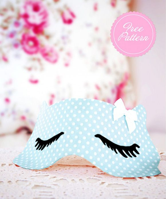Eye Mask Template DIY