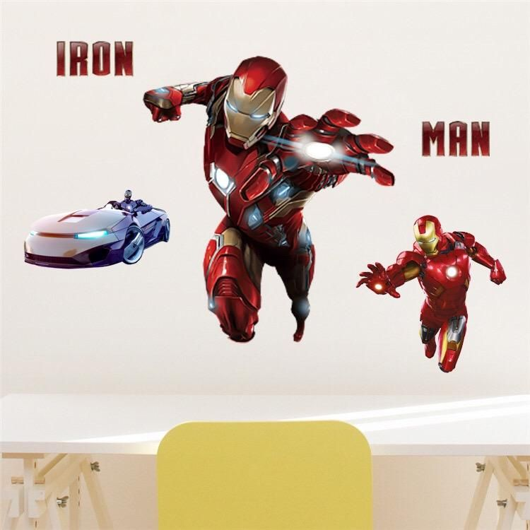 IRON MAN FULL SET OF STICKERS X120