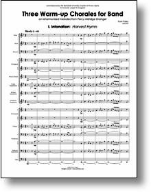 Warm-Up Chorales for Band - E-flat Instruments