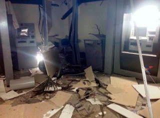 NONATO NOTÍCIAS: GRUPO EXPLODE  CAIXAS DE AGÊNCIA EM  CASTELO BRANC...