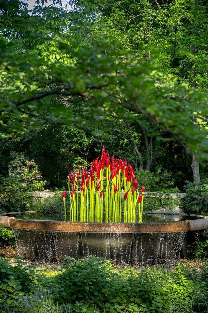 atlanta botanical garden dale chihuly Art review