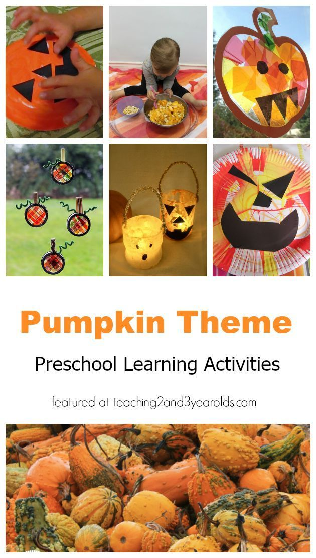 The Ultimate Guide To Pumpkin Theme Activities Preschool
