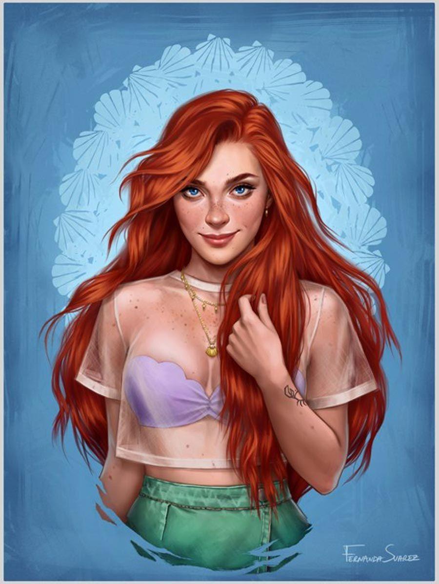 Princesas Disney Modernas - Just Lia | Por Lia Camargo